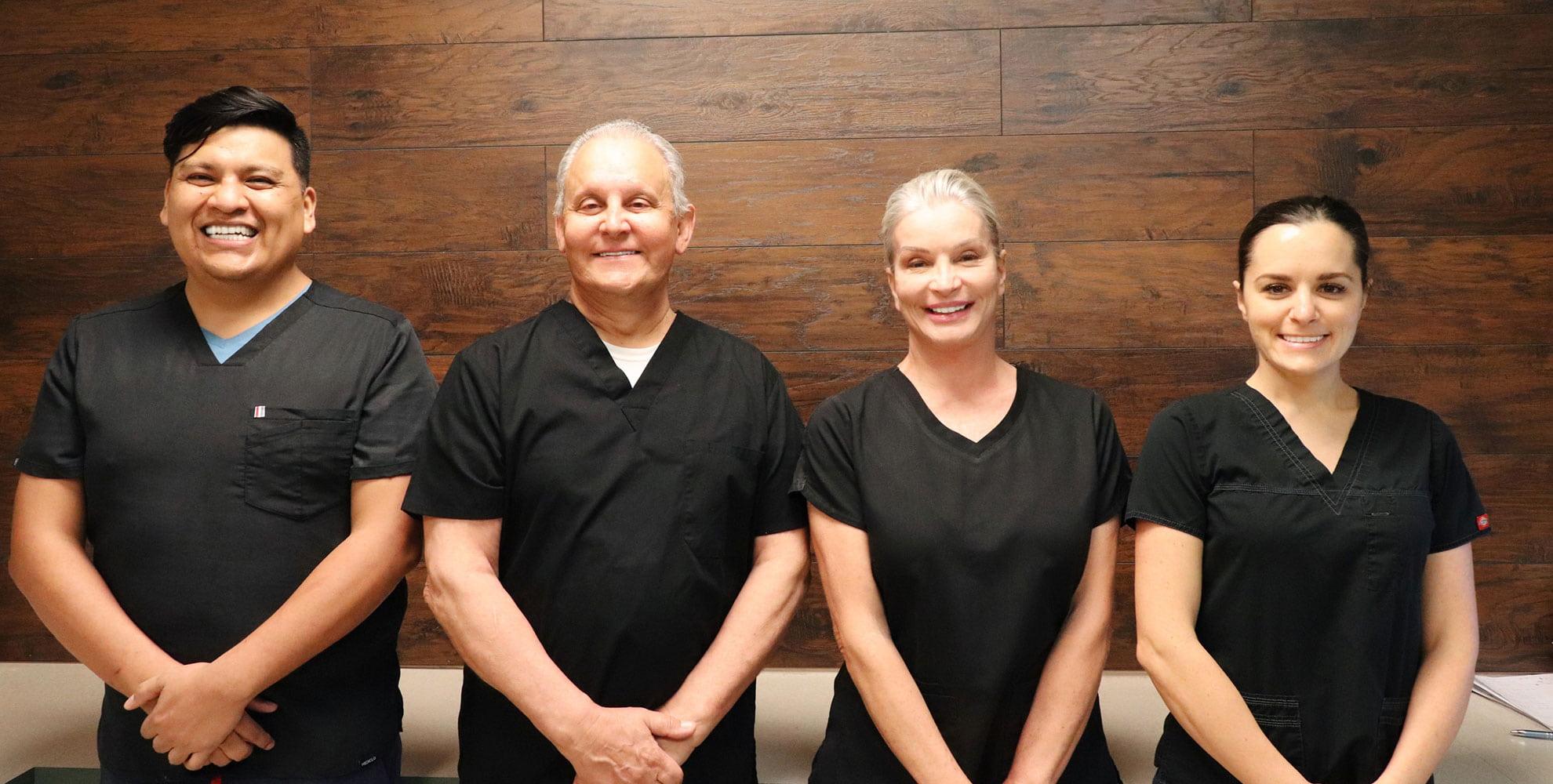 Kaban Endodontics Team of experts smiling